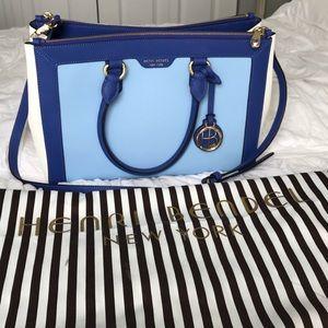 Henri Bendel Tri Colored Handbag
